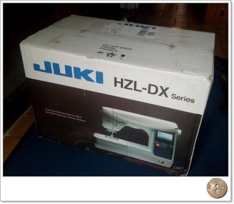 Der erste Testbericht zur Nähmaschine Juki HZL DX 5