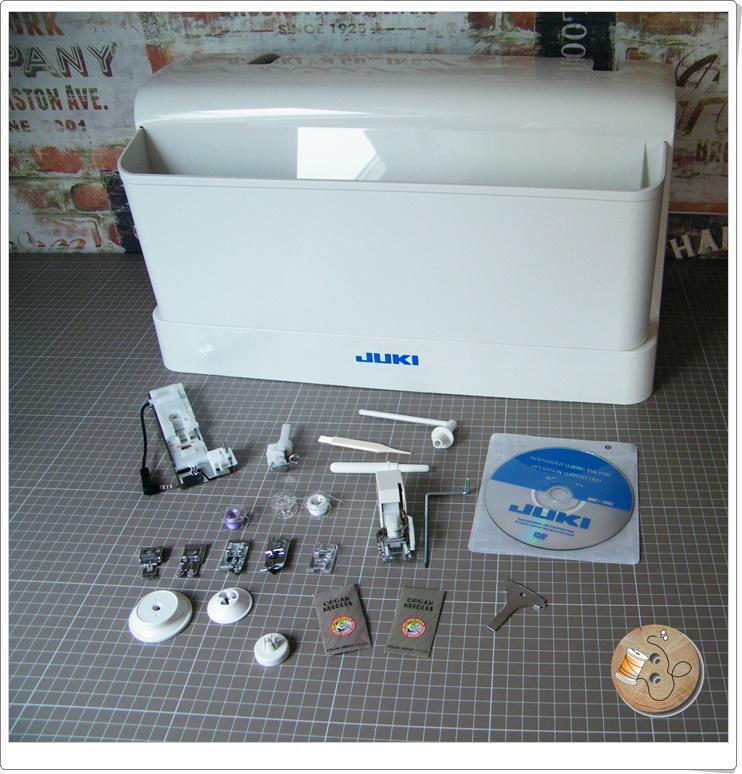 Die Juki DX 5 Nähmaschine im Test