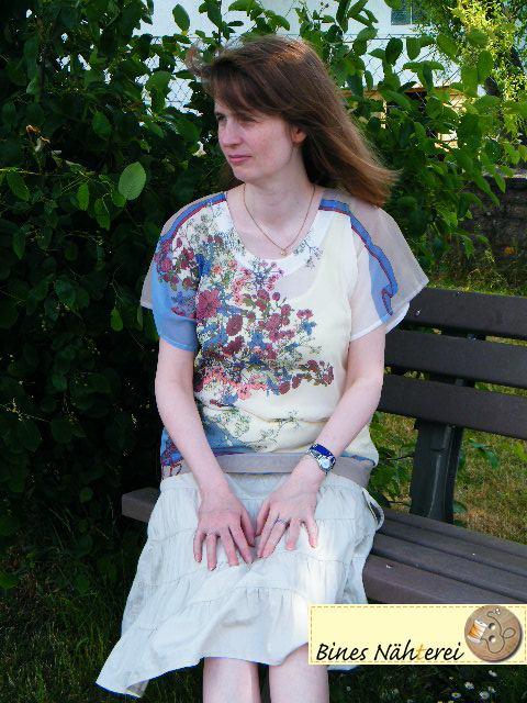 Bluse Mathilde von SO-Pattern