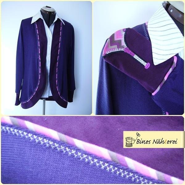 Jacke Dora von SO-Pattern abgewandelt